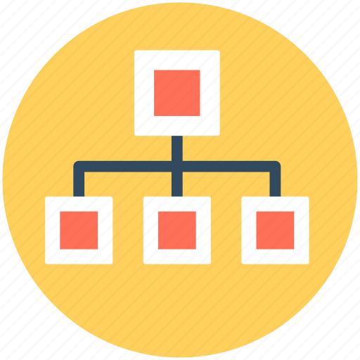 Hierarchy, networking, programming process, sitemap, workflow icon - Download on Iconfinder