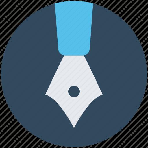 Fountain pen, ink pen, pen nib, pen tip, writing icon - Download on Iconfinder