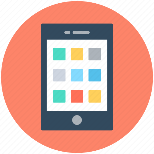 cell phone, mobile, mobile menu, mobile ui, smartphone icon