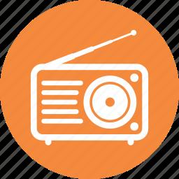 communication, radio icon