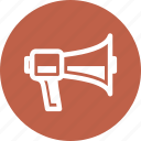 advertising, communication, marketing, megaphone icon