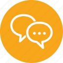 chat, discussion, speech bubbles, talk