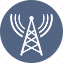 communication tower, tower, radio