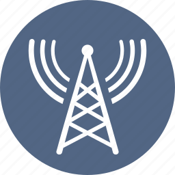 communication tower, radio, tower icon