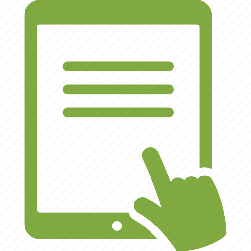Ipad, reading, tablet icon - Download on Iconfinder