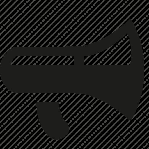 advertising, megaphone icon