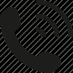 phone, speaker icon