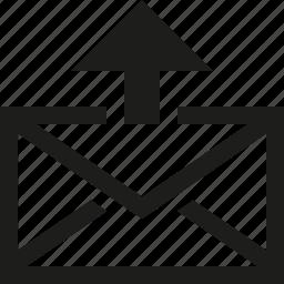 mail, sent icon