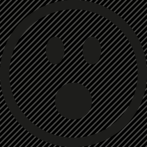omg, smiley icon