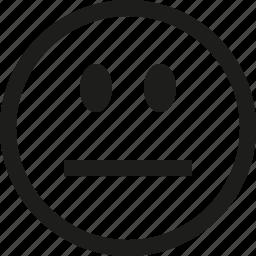 sad, smiley icon