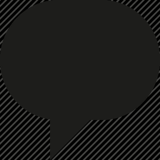 bubble, talk icon