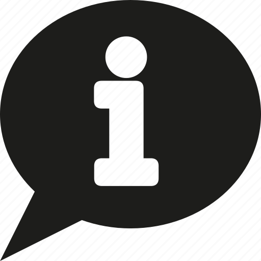 bubble, information, talk icon