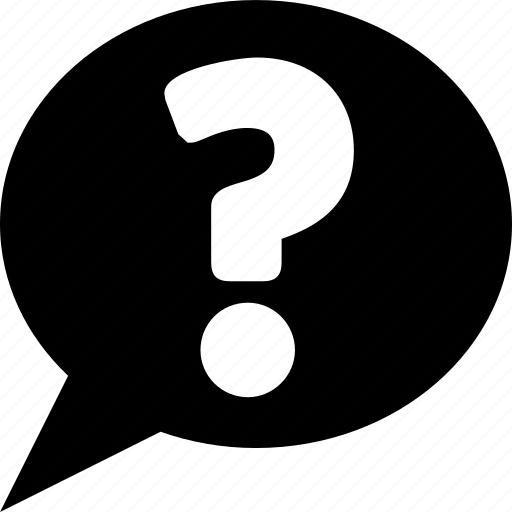 bubble, question, talk icon