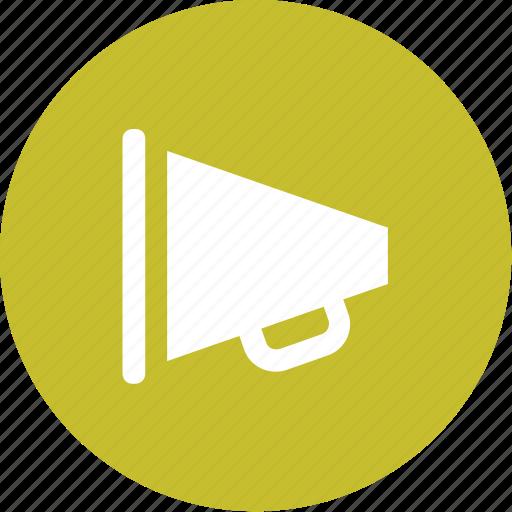 bullhorn, communication, loud, loudspeaker, megaphone, sound, speaker icon