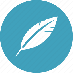 feather, ink, pen, quill, text, write, writing icon