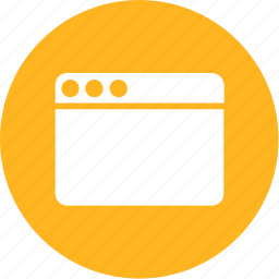 application, browser, computer, page, screen, website, window icon