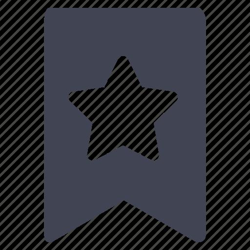 bookmark, communication, favorite, favourite, star icon