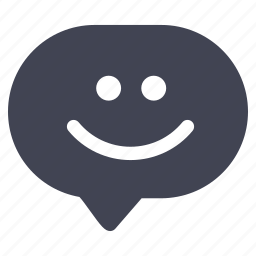 chat, communication, emoticon, emoticons, smiley icon