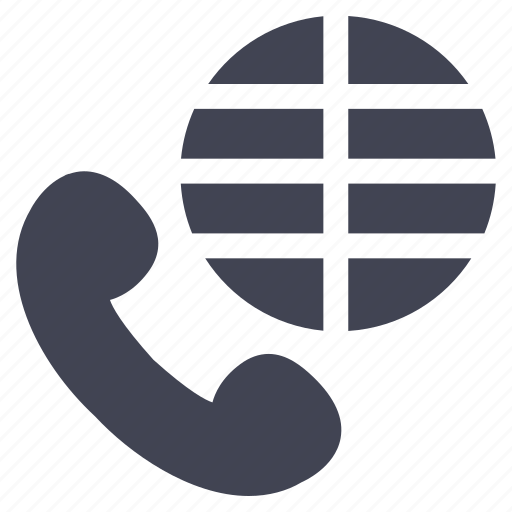 calls, communication, global, globe, international icon