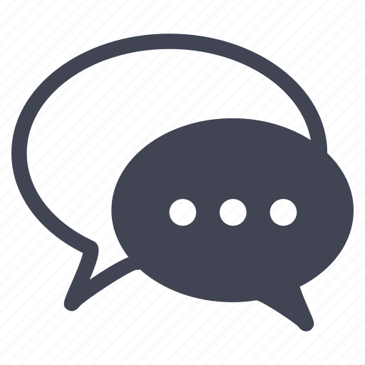 chat, communication, message, messaging, talk icon