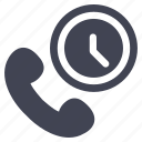 call, communication, phone, telephone, up, wake icon