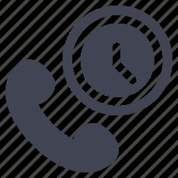 call, communication, phone, telephone, up, wake icon