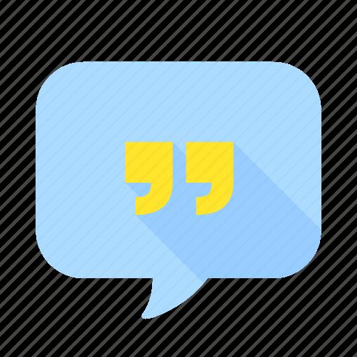 bubble, chat, communication, mail, message, speech, talk icon