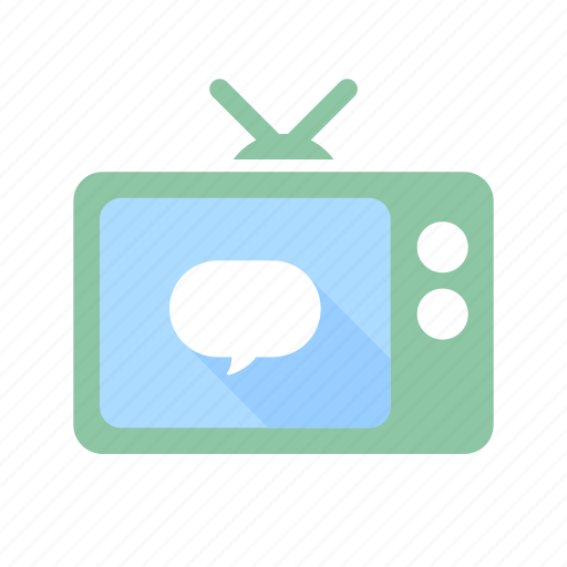 communication, display, monitor, screen, television, tv icon