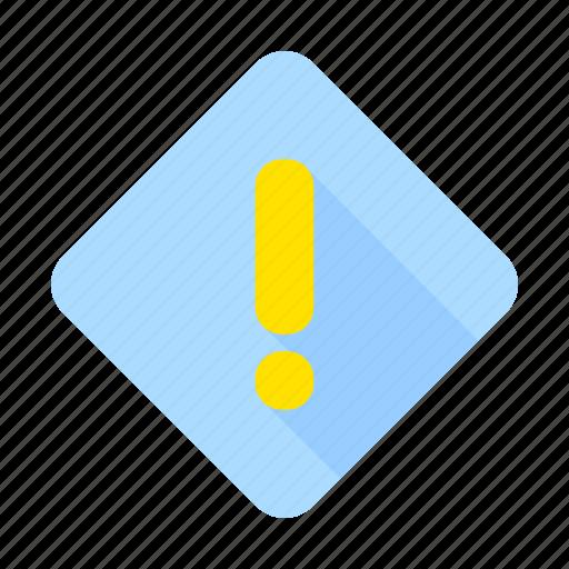 alert, attention, caution, communication, danger, error, warning icon