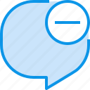 bubble, communication, conversation, speech, talk icon