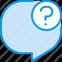 bubble, communication, conversation, speech, talk icon