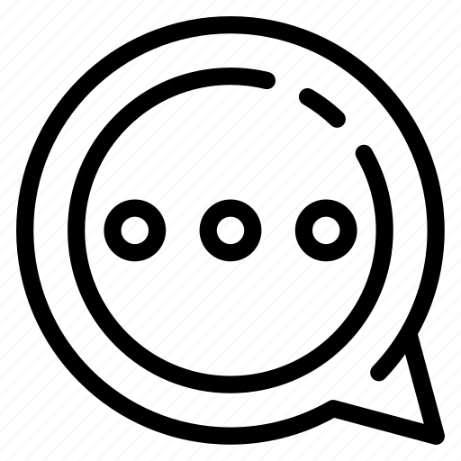 bubble, chat, communication, connect, technology, web icon
