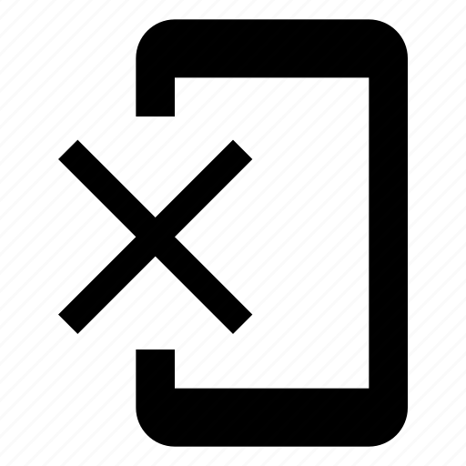 bin, clear, close, erase, phonelink, rubbish, tool icon