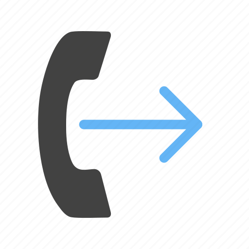 call, communication, internet, message, outgoing, phone icon