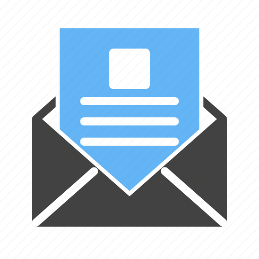 computer, internet, laptop, mail, reading, technology icon