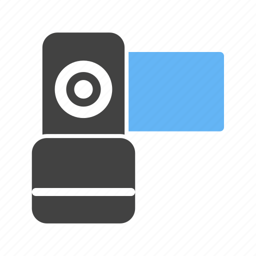 camcorder, camera, digital, lens, production, technology, video icon