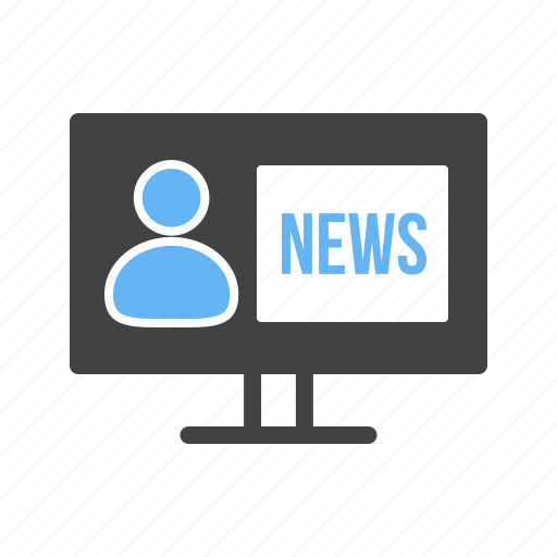 broadcasting, journalist, microphone, news, reporter, studio, tv icon
