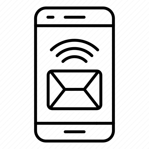 communication, mail, message, phone icon