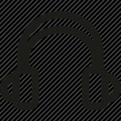 audio, headphone, multimedia, music, sound, speaker, volume icon