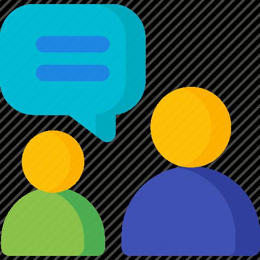 bubble, chat, communication, conversation, speak, speech, talk icon