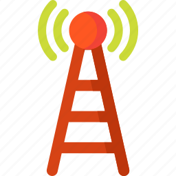 antenna, communication, connection, signal, wifi, wireless icon