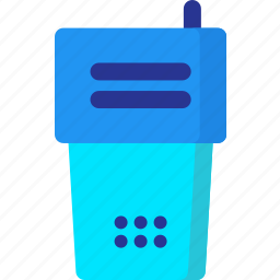 communication, interaction, phone, radio, smartphone, talkie, walkie icon