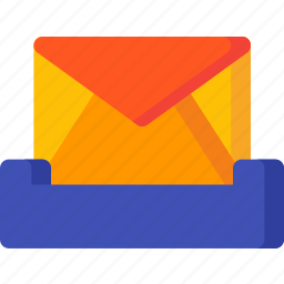 box, delivery, email, envelope, inbox, letter, mail icon
