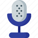 audio, communication, media, mic, microphone, multimedia, sound icon