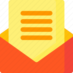 communication, document, email, interface, letter, message, text icon