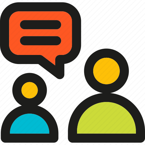 chat, comment, communication, conversation, dialogue, interaction, speak icon