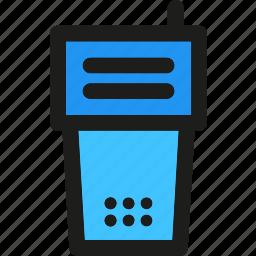 antenna, communication, radio, signal, talkie, walkie, wireless icon