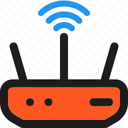 antenna, communication, connection, modem, network, signal, signals icon