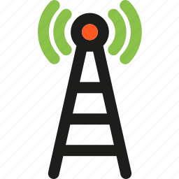 antenna, communication, connection, interaction, internet, network, wifi icon