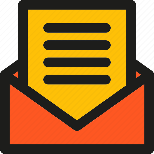 communication, connection, email, envelope, interaction, letter icon